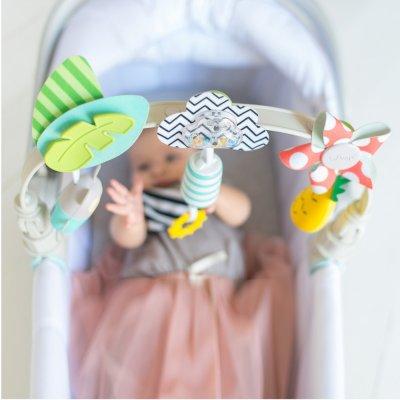 Jouet de voyage bébé arche tropicale Taf toys