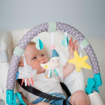 Jouet de voyage bébé arche mini lune Taf toys