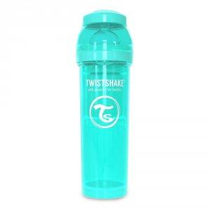 Biberon anti-colique turquoise 330ml