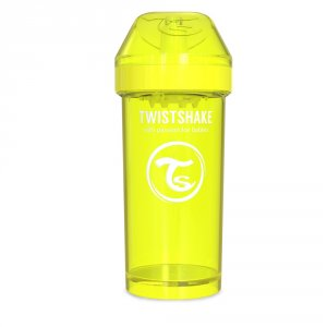 Gobelet infuseur de fruit 360ml jaune