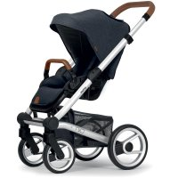 Poussette 4 roues nio north blue shade