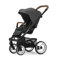 Poussette 4 roues nio chassis black north grey