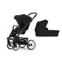 Pack poussette duo nio chassis black north black