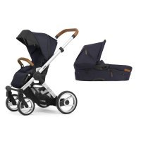 Pack poussette duo evo chassis standard urban nomad deep navy