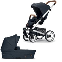 Pack poussette duo nio north blue shade