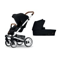 Pack poussette duo nio north black