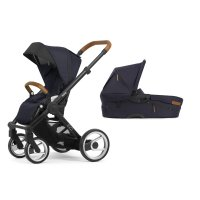 Pack poussette duo evo chassis black urban nomad deep navy