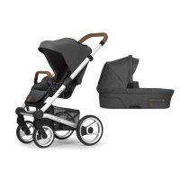 Pack poussette duo nio north grey