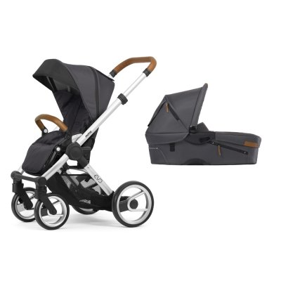 Pack poussette duo evo chassis standard urban nomad dark grey Mutsy