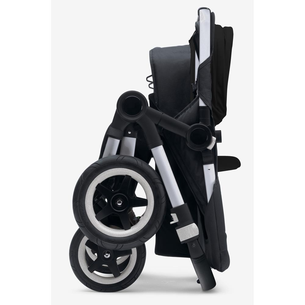 pack poussette duo donkey mono avec capote et tablier noir sur allob b. Black Bedroom Furniture Sets. Home Design Ideas