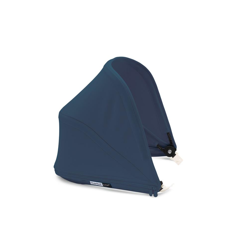 poussette citadine bee5 ch ssis noir housse noir capote bleu azur poign es noir de bugaboo. Black Bedroom Furniture Sets. Home Design Ideas