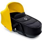 Nacelle bee3 avec habillage noir et capote jaune pas cher