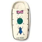 Nid d'ange pour poussette bee édition spéciale andy warhol happy bugs pas cher