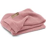 Couverture bébé en laine woolmark rose pas cher