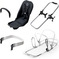 Sièges supplémentaire pour poussette bugaboo donkey configuration double noir