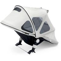 Protection soleil capote à fenêtres pour poussette cameleon 3 gris arctique