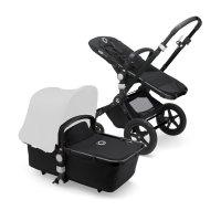 Pack poussette cameleon3+ châssis noir et habillages noir (sans capote)
