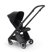 Poussette 4 roues ant noir avec style set et capote noir