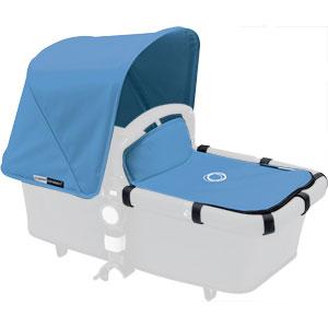 Capote extensible + tablier pour nacelle cameleon3 bleu glacier