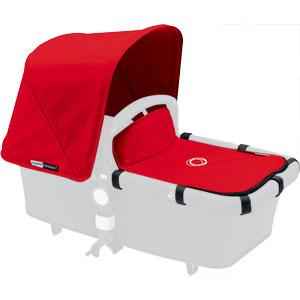 Capote extensible + tablier pour nacelle cameleon3 rouge
