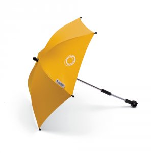 Ombrelle poussette jaune solaire