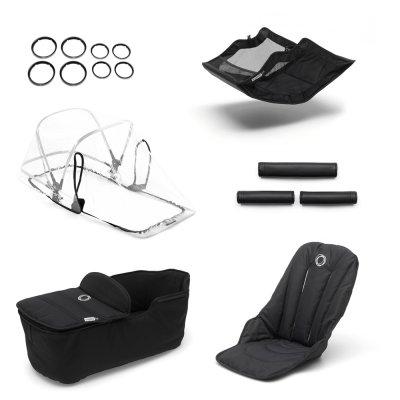 Style set pour poussette fox noir Bugaboo