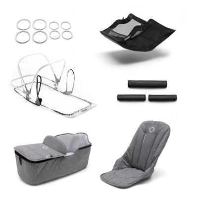 Style set pour poussette fox gris chiné Bugaboo