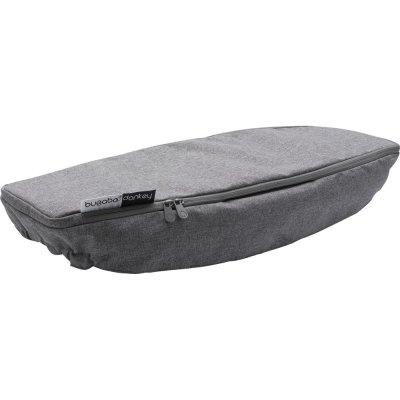 Couverture pour panier latéral donkey2 gris chiné Bugaboo