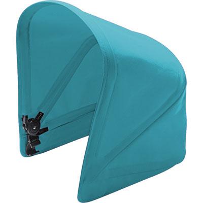Capote pour poussette donkey version duo bleu pétrole Bugaboo