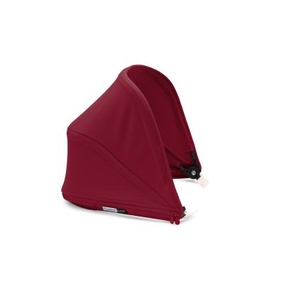 Capote extensible pour poussette bee5 rouge rubis Bugaboo