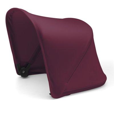 Capote extensible pour poussette fox ou cameleon3+ rouge rubis Bugaboo