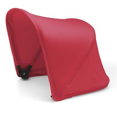 Capote extensible pour poussette fox ou cameleon3+ rouge néon Bugaboo