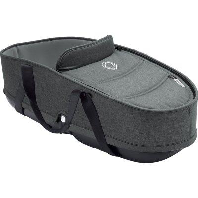 Pack poussette duo bee5 complète châssis alu + habillage et nacelle gris chiné Bugaboo