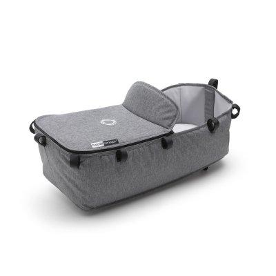 Pack poussette cameleon3+ châssis alu et habillages gris chiné (sans capote) Bugaboo