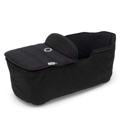 Pack poussette duo fox alu + housse de siège et habillage de nacelle noir Bugaboo