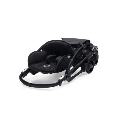 Poussette 4 roues bee5 châssis noir + housse noir Bugaboo