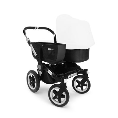 Pack poussette duo donkey+ châssis alu sans capote Bugaboo