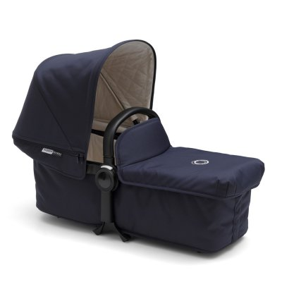 Pack poussette duo donkey classique+ mono complète alu et bleu marine Bugaboo