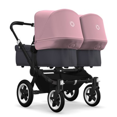 Poussette double donkey twin 2 capotes Bugaboo