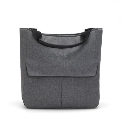 Sac mammoth pour poussette bee gris chiné Bugaboo