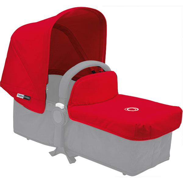 capote et tablier pour nacelle donkey rouge 20 sur allob b. Black Bedroom Furniture Sets. Home Design Ideas
