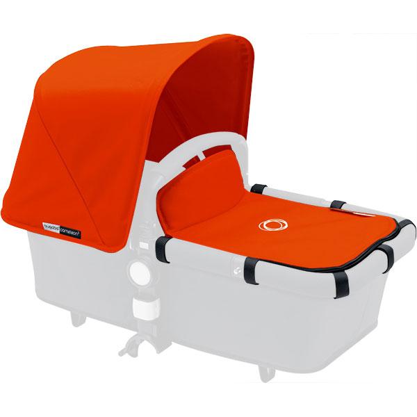 Capote et tablier pour nacelle cameleon3 orange Bugaboo