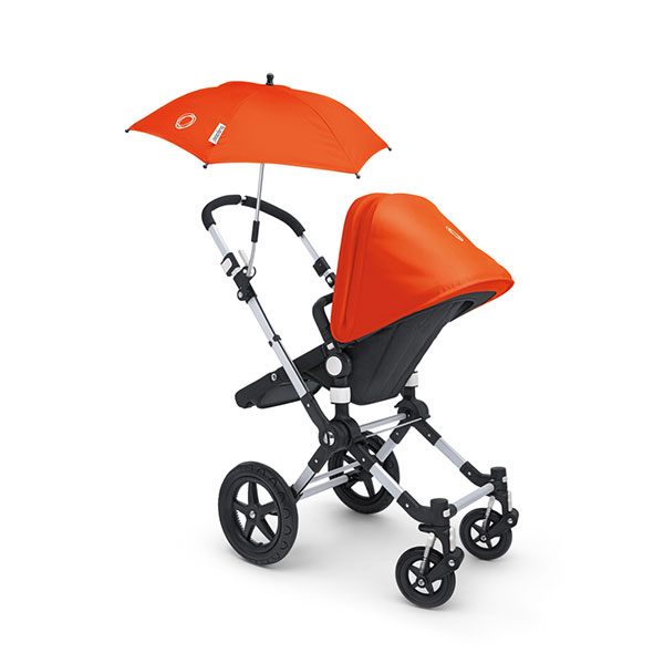 Ombrelle poussette orange Bugaboo