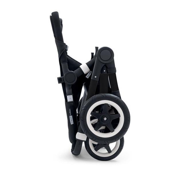 Poussette combiné duo buffalo+ châssis et base noir sans capote Bugaboo