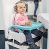 Réhausseur de chaise confort bleu et gris Badabulle