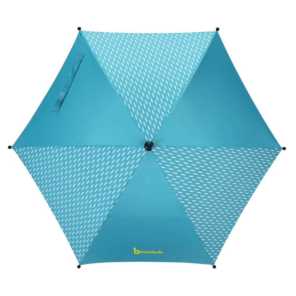ombrelle poussette anti uv bleue de badabulle sur allob b. Black Bedroom Furniture Sets. Home Design Ideas