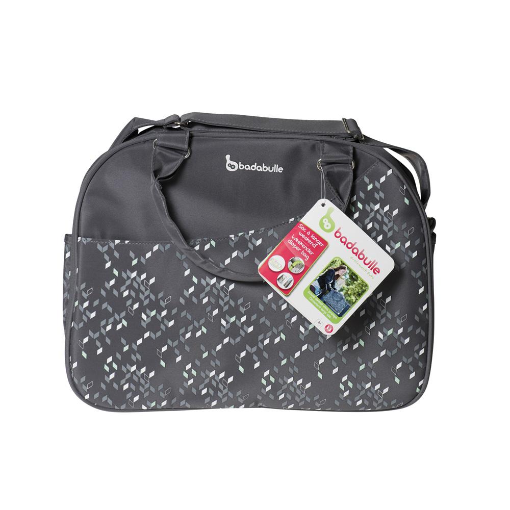 sac langer week end confetti grey 15 sur allob b. Black Bedroom Furniture Sets. Home Design Ideas
