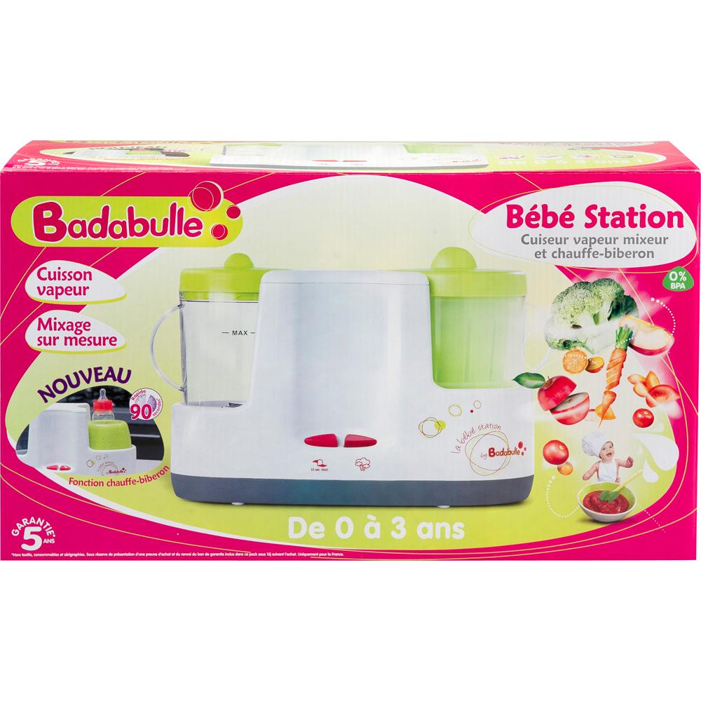 robot cuiseur mixeur b b station chauffe biberon 10 sur allob b. Black Bedroom Furniture Sets. Home Design Ideas