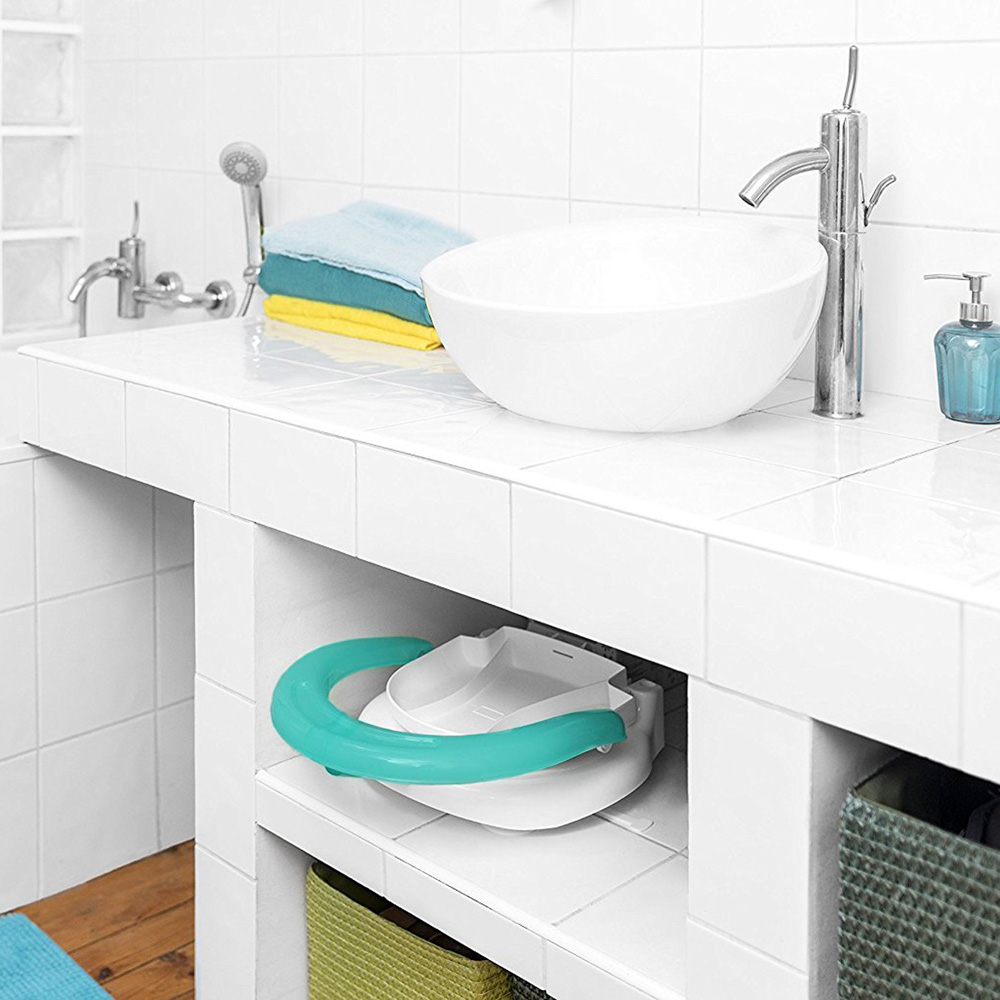 fauteuil de bain pliable raccon de badabulle. Black Bedroom Furniture Sets. Home Design Ideas