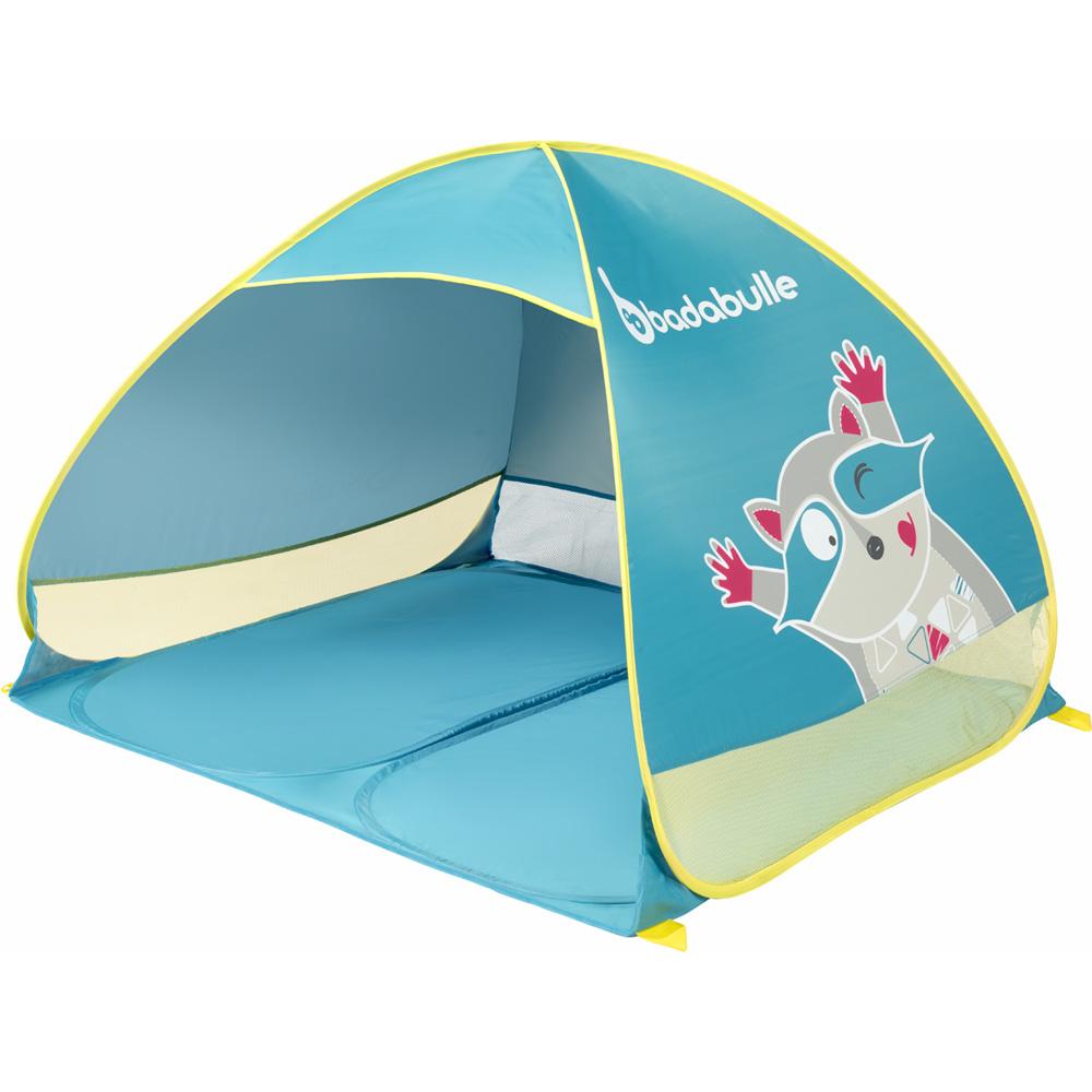 tente anti uv b b bleue de badabulle sur allob b. Black Bedroom Furniture Sets. Home Design Ideas